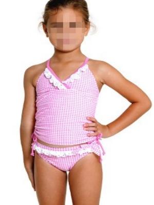 6f4e4c1d3f Children swimsuit pink white lace style,swimsuit,Askwear.com