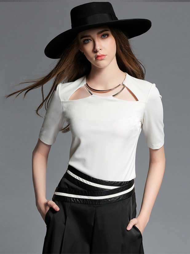 Стильные Белые Блузки С Доставкой