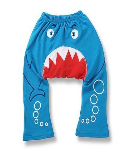Kids Cartoon Pants Small Quantity Children Clothing