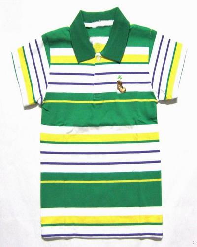 Orange Striped Polo Shirt Kids Polo Shirts Stripe Design